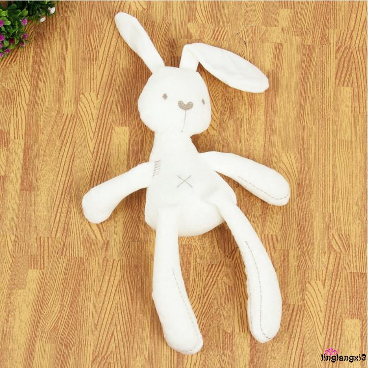 9VV-Cute Bunny Rabbit Stuffed Animal Plush Toy Baby Kids Soft Appease Bed