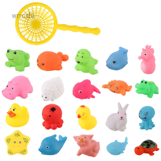 Baby Bath Animal Toys Baby Sound Toys Fun Educational Learning Toys for Toddlers