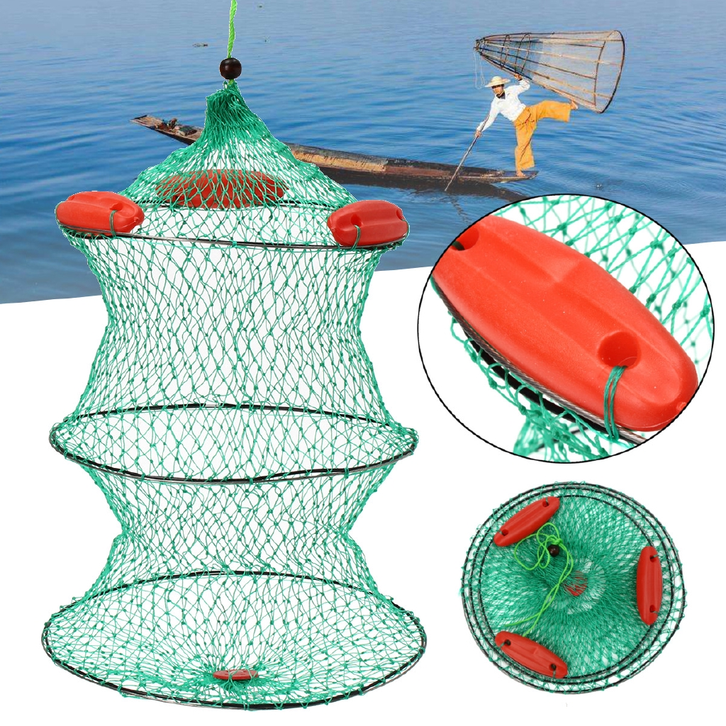 Lồng lưới bắt cá dạng gập tiện dụng - 22558826 , 2365823171 , 322_2365823171 , 106000 , Long-luoi-bat-ca-dang-gap-tien-dung-322_2365823171 , shopee.vn , Lồng lưới bắt cá dạng gập tiện dụng