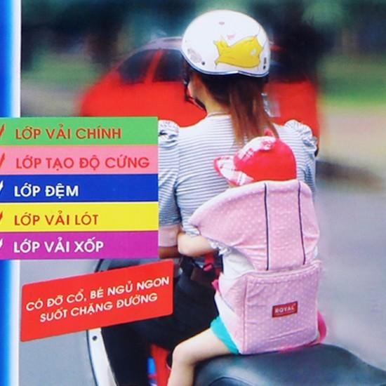 Đai an toàn có đỡ cổ khi đi xe máy cho bé Royal - 2697454 , 55372510 , 322_55372510 , 85000 , Dai-an-toan-co-do-co-khi-di-xe-may-cho-be-Royal-322_55372510 , shopee.vn , Đai an toàn có đỡ cổ khi đi xe máy cho bé Royal