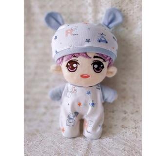 Set quần áo sơ sinh cho doll 20cm