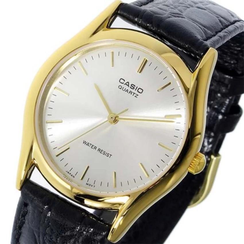 Đồng hồ nam dây da Casio chính hãng Anh Khuê MTP-1094Q-7A