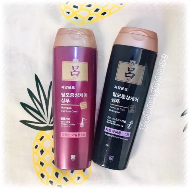 MẪU MỚI Dầu gội RYO nhân sâm ngừa rụng tóc chuyên sâu Jayang Yun Mo Hair Loss Care shampoo Hàn Quốc