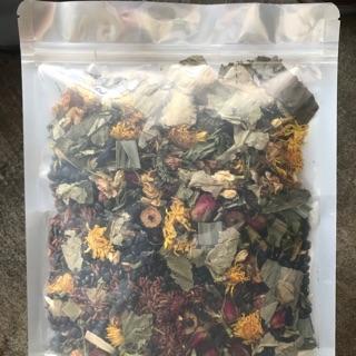 Trà hoa ngũ cốc nhà làm gói 500gam