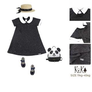 [KIKA] Váy đầm bé gái ngôi sao lấp lánh Size 11-45kg K078