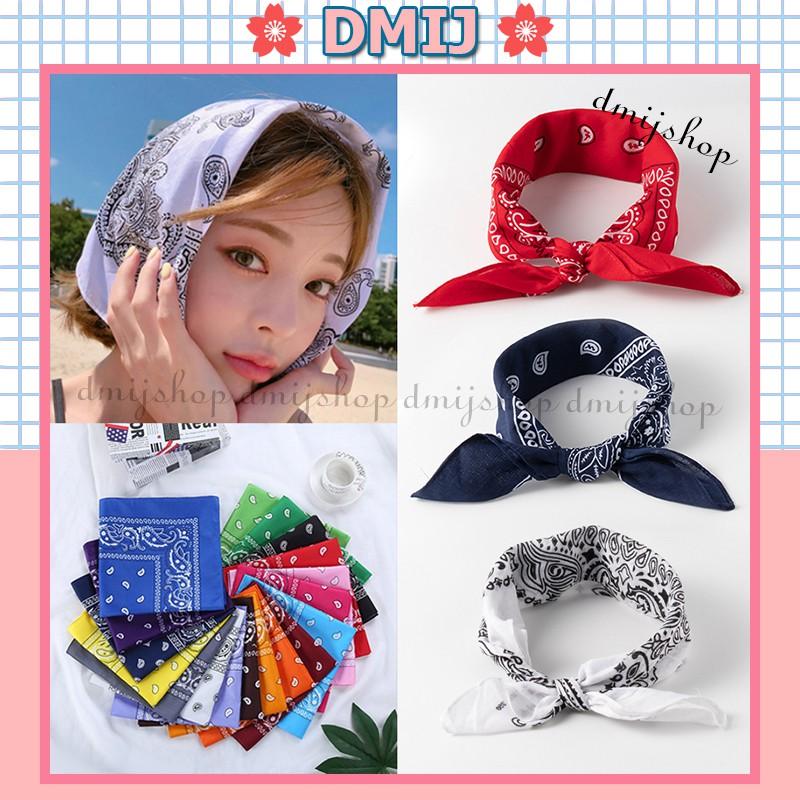 Khăn Turban Bandana Headband 20 Màu Thời Trang Cho Nam Nữ