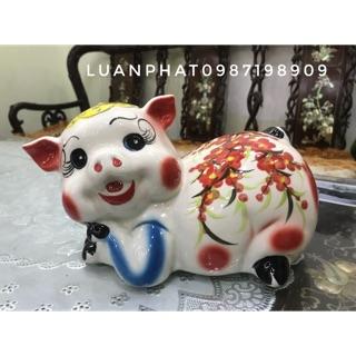 Lợn đất Bát Tràng đẹp