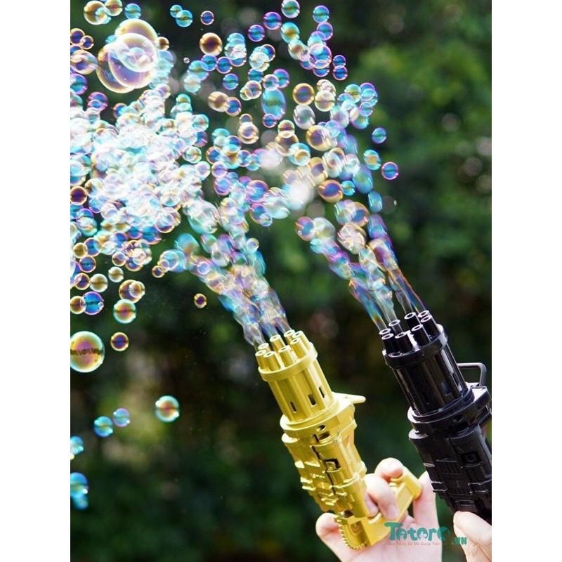 Súng bắn bong bóng tự động nhiều nòng