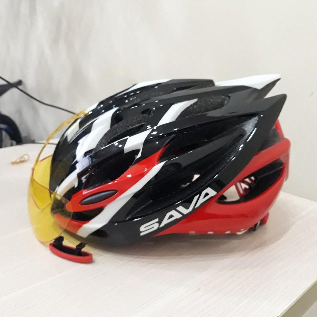 Mũ xe đạp thể thao Sava