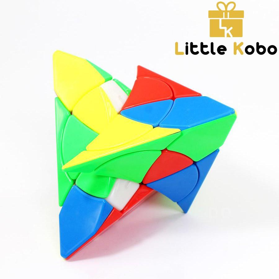 Rubik Biến Thể YJ Petal Pyraminx Yulong Rubik Biến Thể Tam Giác Pyraminx Stickerless