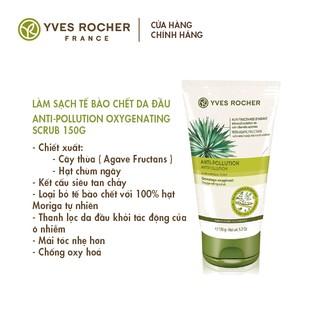Làm Sạch Tế Bào Chết Da Đầu Yves Rocher Anti-Pollution Oxygenating Scrub 150g-1