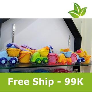 [Hàng Thật- Giá Sock] Đồ chơi xúc cát bằng nhựa cho bé