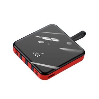 pin sạc dự phòng 20000mah hỗ trợ nhanh an toàn Điện thoại di động cực mỏng, nhỏ, xách tay và lớn với một sợi dây cáp thumbnail