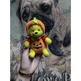 Gấu bông Pooh cosplay bí Haloween thumbnail