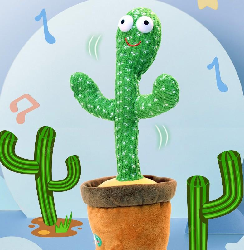 [ Có Sẵn] Xương rồng nhảy múa có nhạc vui nhộn Hot 2021 Dancing Cactus Singing and Dancing youngtime