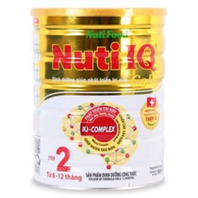 Sữa Nuti IQ Gold số 2 hộp 900g Date 8/2019