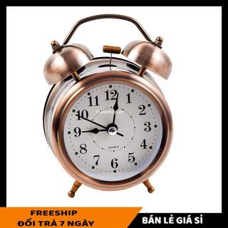 Đồng hồ báo thức SALE ️ Đồng hồ báo thức chuông reo, nhỏ gọn, xinh xắn, có thể trang trí căn phòng của bạn 5534