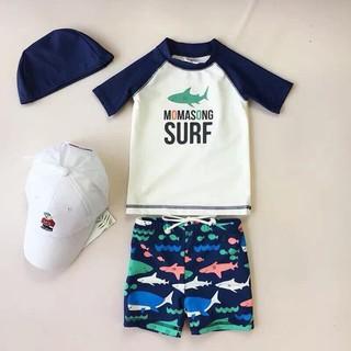 (hàng QCCC) Set bơi 3 chi tiết bé trai SBBT59 SO COOL size20-35kg