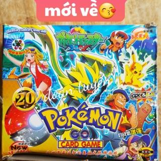 Bài hộp pokemon (combo 10 bộ )