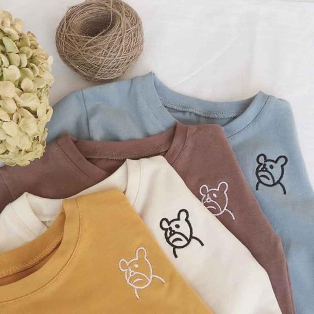 (xả)Áo phông gấu cho bé trai/gái