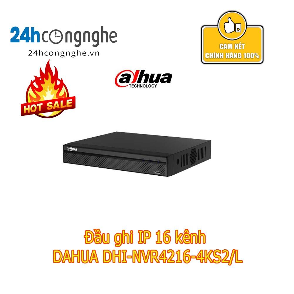 Đầu ghi IP 16 kênh DAHUA DHI-NVR4216-4KS2/L