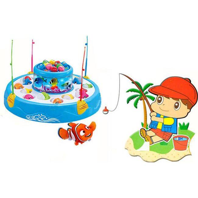 Combo 2 Đồ chơi câu cá 2 tầng