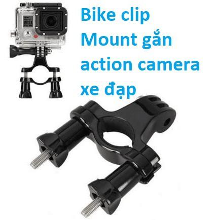 Mount gắn ghi đông xe phụ kiện cho camera GoPro, SJCAM, EKEN, AMkov, Andoer...