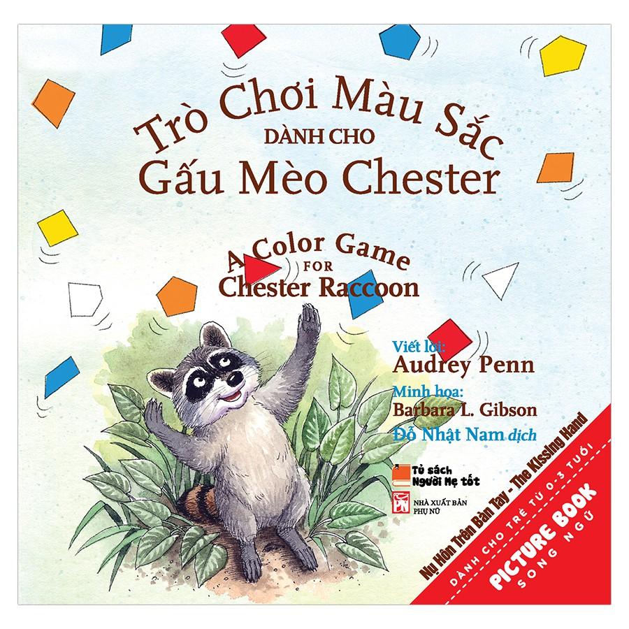 Mua Sách- Trò Chơi Màu Sắc Dành Cho Gấu Mèo Chester - A Color Game For Chester Raccon
