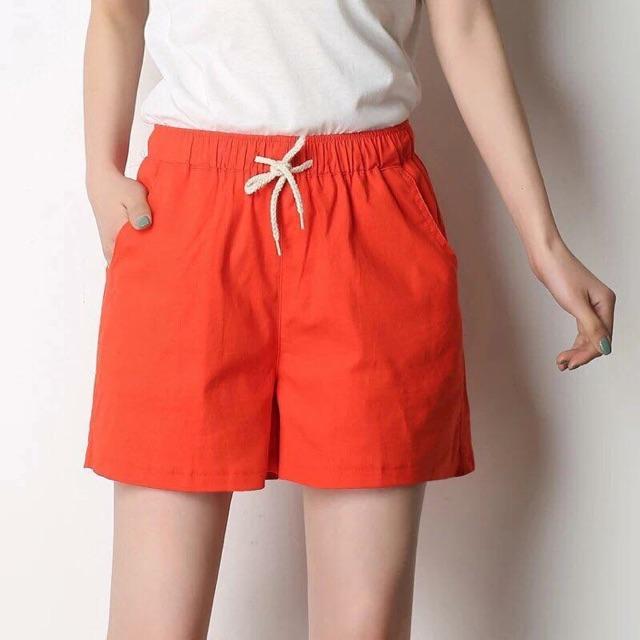 Short Cạp Chun Dây Rút (quần đùi, quần soo