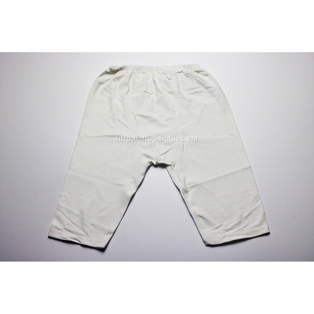 Combo 5 quần dài mặc tã ĐÁY NEM jou cho bé sơ sinh từ 4-12kg