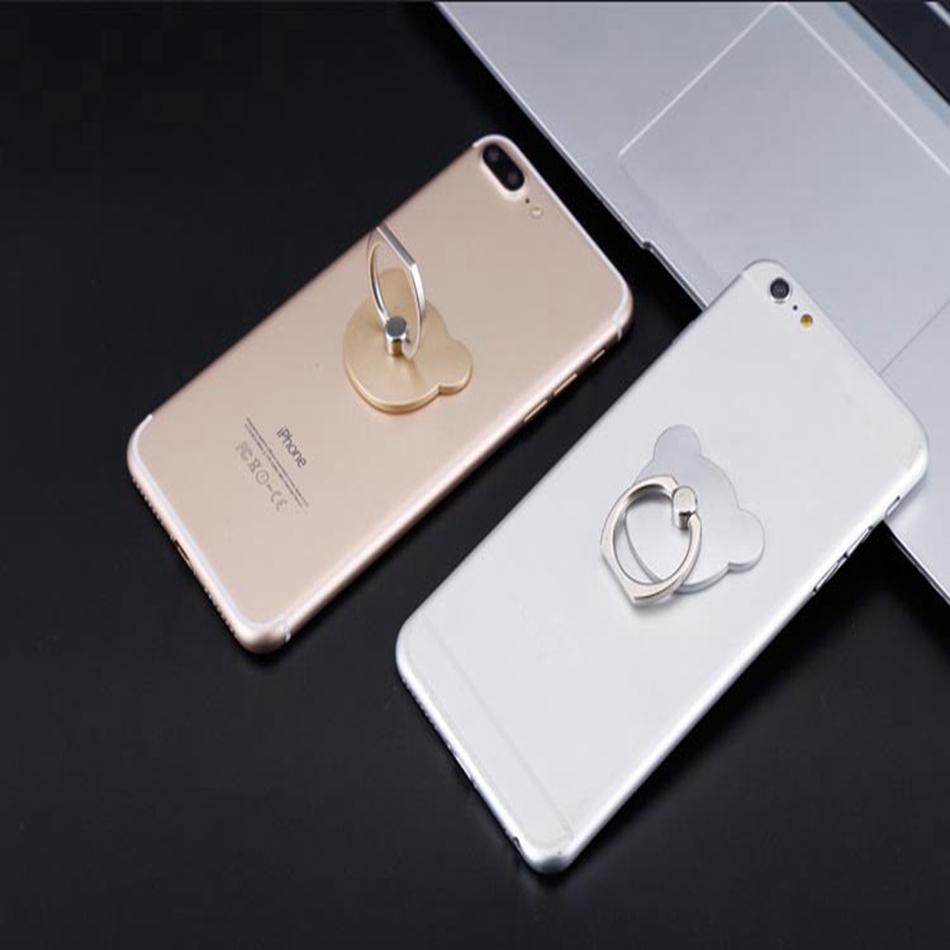 Vòng Đỡ Điện Thoại Xoay 360 Độ Hình Mèo Cho Iphone Samsung Huawei Xiaomi Vivo Oppo