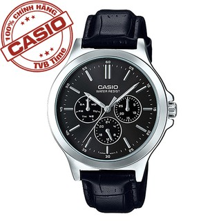 [Mã FABRR5503 giảm 20% đơn 249K] Đồng hồ nam dây da Casio Standard chính hãng Anh Khuê MTP-V300L-1AUDF (41mm)