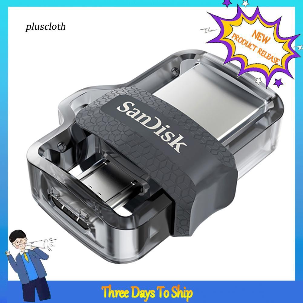 USB 3.0 SanDisk OTG 16G/32G/64G/128G chuyên dụng cho PC điện thoại
