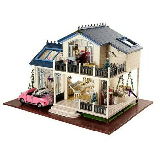 Mô hình nhà gỗ búp bê dollhouse DIY – A032 Provence