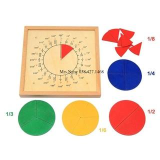 Giáo cụ Montessori – Bảng ghép hình chia tọa độ