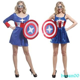 trang phục hoá trang captain america