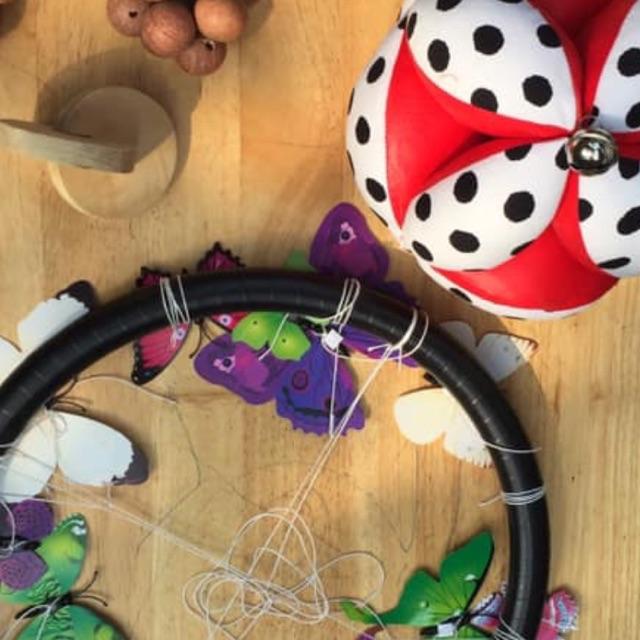 SALE Combo bướm lượn và bóng vải