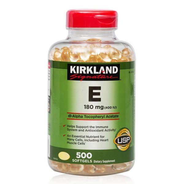 Vitamin E Kirkland Hỗ Trợ Làm Đẹp Da ( hsd
