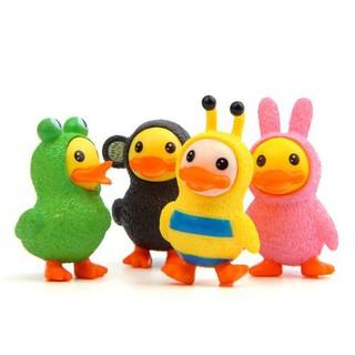 4 Styles Cute Cartoon Duck Doll Toys