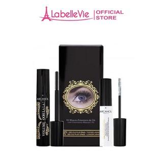 Bộ kit Mascara Arcancil Oohlala Lash Extension cho đôi mi dài và dày tối đa thumbnail