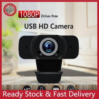 [MDJL] 1080P HD Web Camera With Microphone USB Webcams Computer Camera For Video Calling
