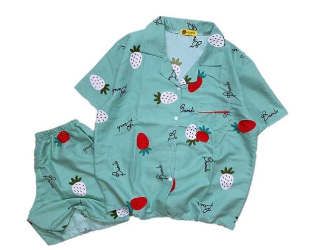 [Mã WASEPRN hoàn 20% xu đơn 99k] Bộ pijama kate trơn siêu mát