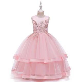 đầm công chúa bé gái- đầm bé gái- đầm bé gái đi dự tiệc- đầm bé gái đi diễn văn nghệ-đầm dài cho bé- đầm dạ hội AT311