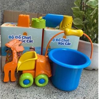 Bộ đồ chơi xúc cát – đồ chơi đi biển