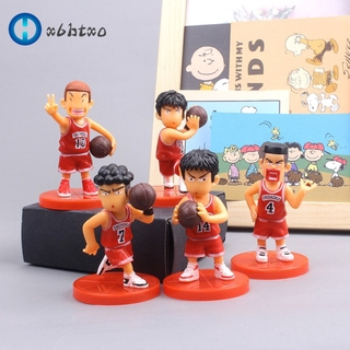 esf 5Pcs/Set Cartoon Basketball Team Decoration for Boyfriend Birthday Gift