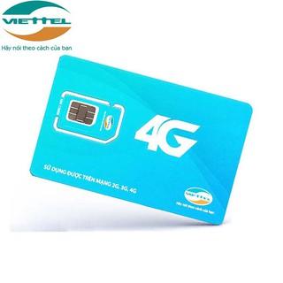 [FREE THÁNG ĐẦU]Sim 4G Viettel V90-V120 tặng 62GB/tháng miễn phí nghe gọi dùng cho máy tính bảng,điện thoại,wifi