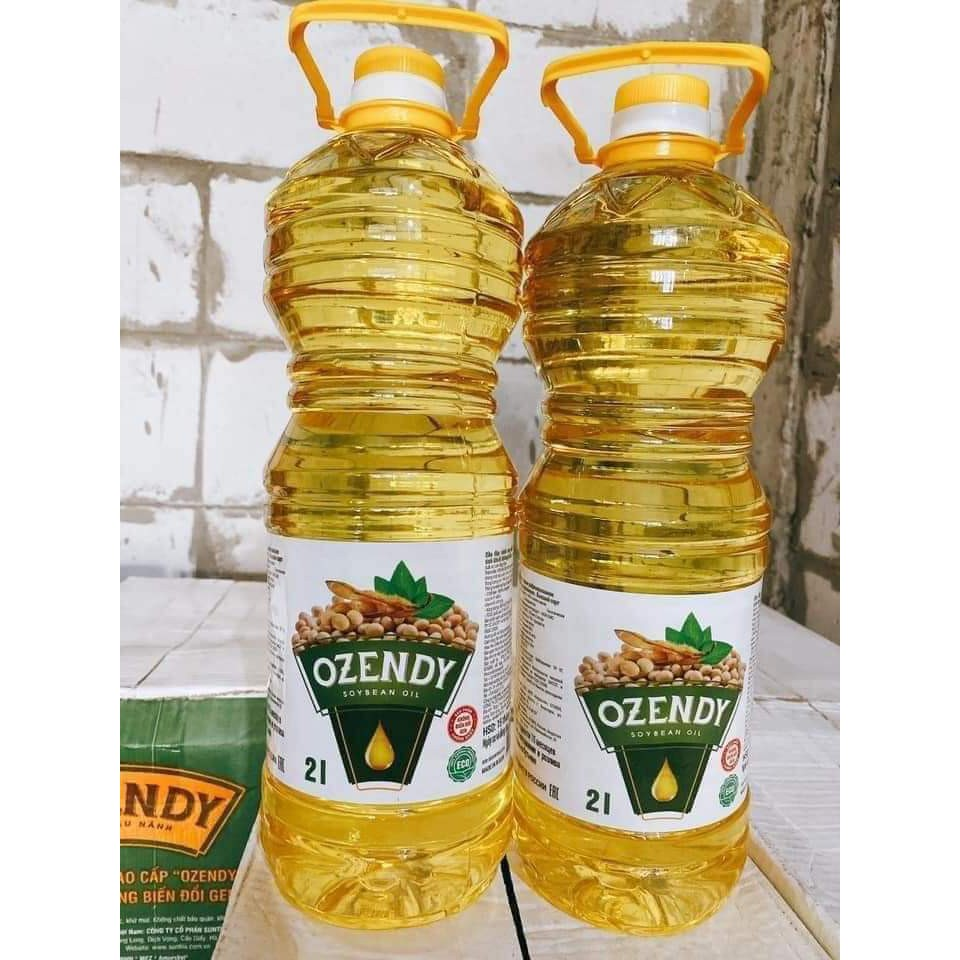 Dầu ăn đậu nành nga Ozendy 1 lít
