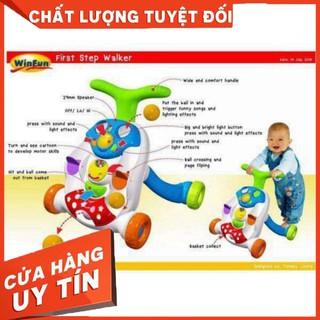 Xe tập đi đẩy bóng #winfun cho bé – Hàng nhập khẩu