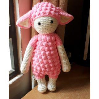 Búp bê cừu len handmade