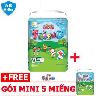 Tã/ Bỉm quần Goon Friend M58 – bé 7~12 Kg